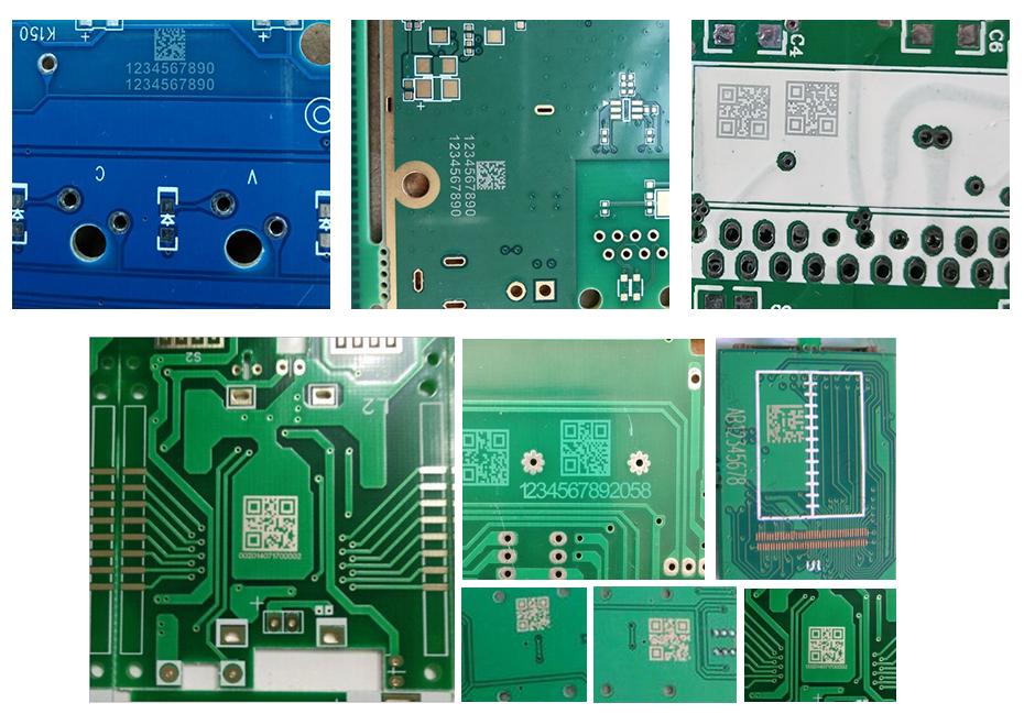 FPCB电路板行业激光喷码机应用案例